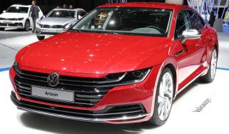 Volkswagen Arteon - Geneva front three quarter
