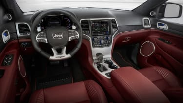Jeep Grand Cherokee Trackhawk - interior