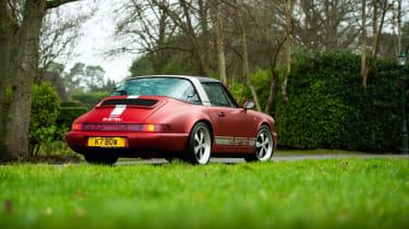Everrati Porsche 964 – rear quarter static