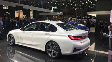 BMW 320d show srand