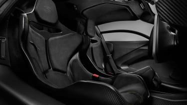 McLaren Senna MSO – interior