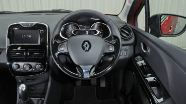 2013 Renault Clio interior dashboard steering wheel