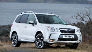 Subaru Forester XT petrol white