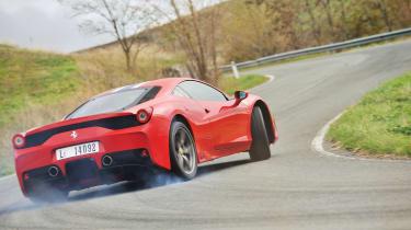 Ferrari 458 Speciale - rear