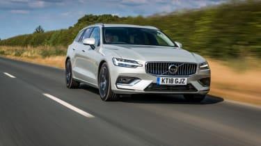 Volvo V60 front three-quarters