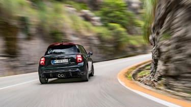 2021 Mini JCW revealed - rear tracking road