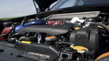Subaru Impreza Cosworth CS400 engine low