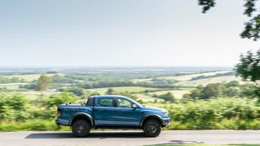 Ford Ranger Raptor UK - side