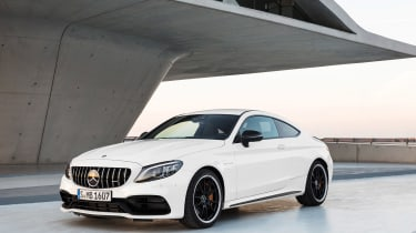 Mercedes-AMG C 63 S Coupe - white front quarter