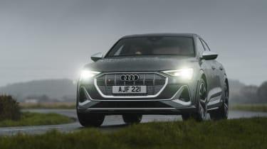Audi e-tron S Sportback - front cornering