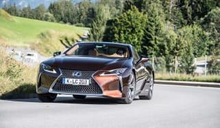 Lexus LC500h - cornering