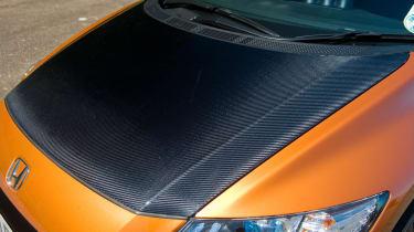 Mugen Honda CR-Z hybrid coupe carbon bonnet