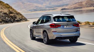 BMW X3M - rear