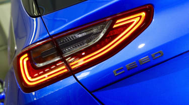 Kia Ceed launch images - rear lights