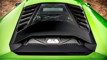 Lamborghini Huracán Evo RWD – engine cover