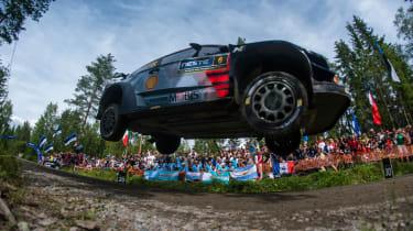 WRC Rally Finland - i20 jump 3