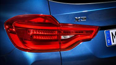 BMW X3 M40i - rear light
