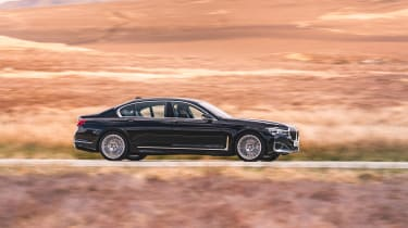 BMW 7-series review - side