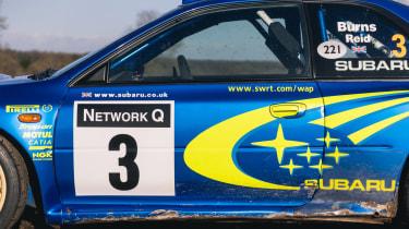 Subaru Impreza S6 WRC – side