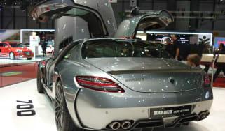 Geneva 2011: Brabus SLS 700 Biturbo
