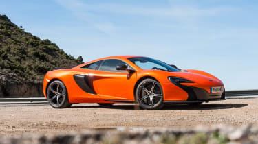 McLaren 650S orange