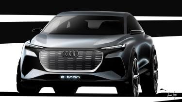 Audi Q4 e-Tron sketch - front