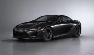 Lexus LC500 Black Inspiration –front quarter