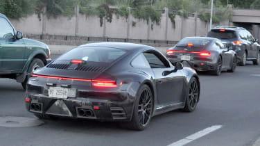 Porsche 911 spy - quarter