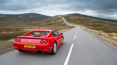 Ferrari F355 - rear tracking