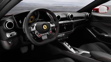 Ferrari Portofino - interior 2