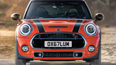 Mini Cooper facelift - front