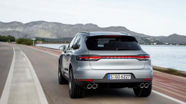 Porsche Macan S driven - Crayon rear
