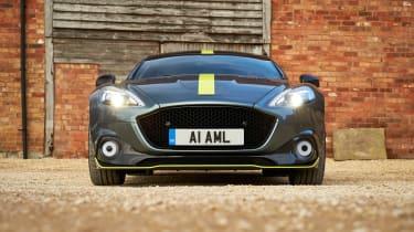 Aston Martin Rapide AMR head on