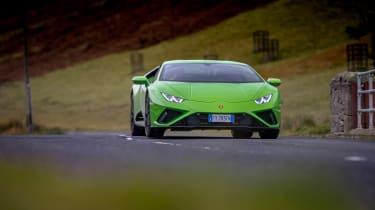 Lamborghini Huracán Evo RWD – nose