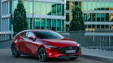 New Mazda 3 Skyactiv-X 2019 review front