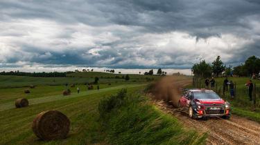 WRC round 9 - Rally Poland  Citroen