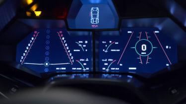Lamborghini Reventon dashboard