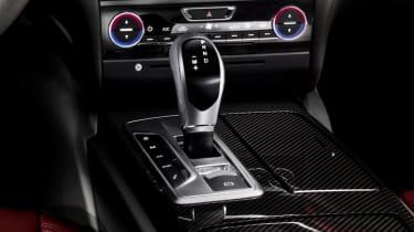 New Maserati Ghibli gearstick gear selector