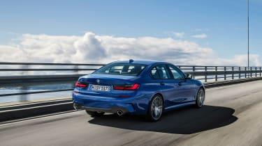 BMW 3-series G20 revealed - M Sport rear