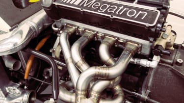 BMW Megatron engine from a Barclay-sponsored Arrows; not good for 1500bhp, reckons Page