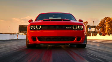 Dodge Demon headlights