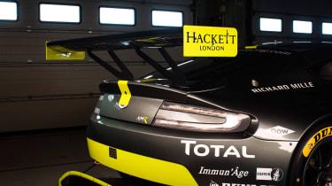 WEC 2017 - Aston Martin V8 GTE rear