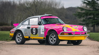 Silverstone Auctions - Porsche Safari front
