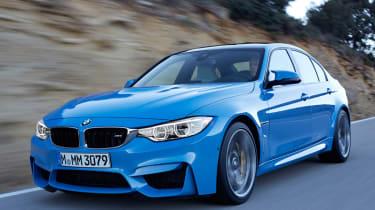 New BMW M3 blue