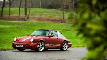 Everrati Porsche 964 – front quarter