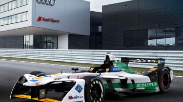 Audi e-tron FE04 - front quarter