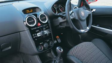Vauxhall VXR interior