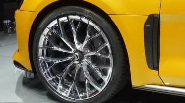 Audi Quattro concept: Frankfurt motor show 2013 alloy wheel gill