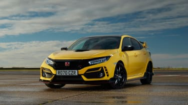 Honda Civic Type R Limited Edition - front quarter static
