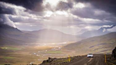 Mazda MX-5 in Iceland - front